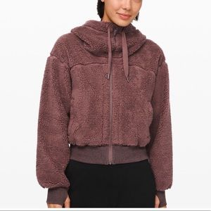 Lululemon Short and Sweet Sherpa Jacket
